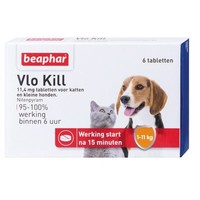 Floh Kill+ bis 11 kg - 6 st