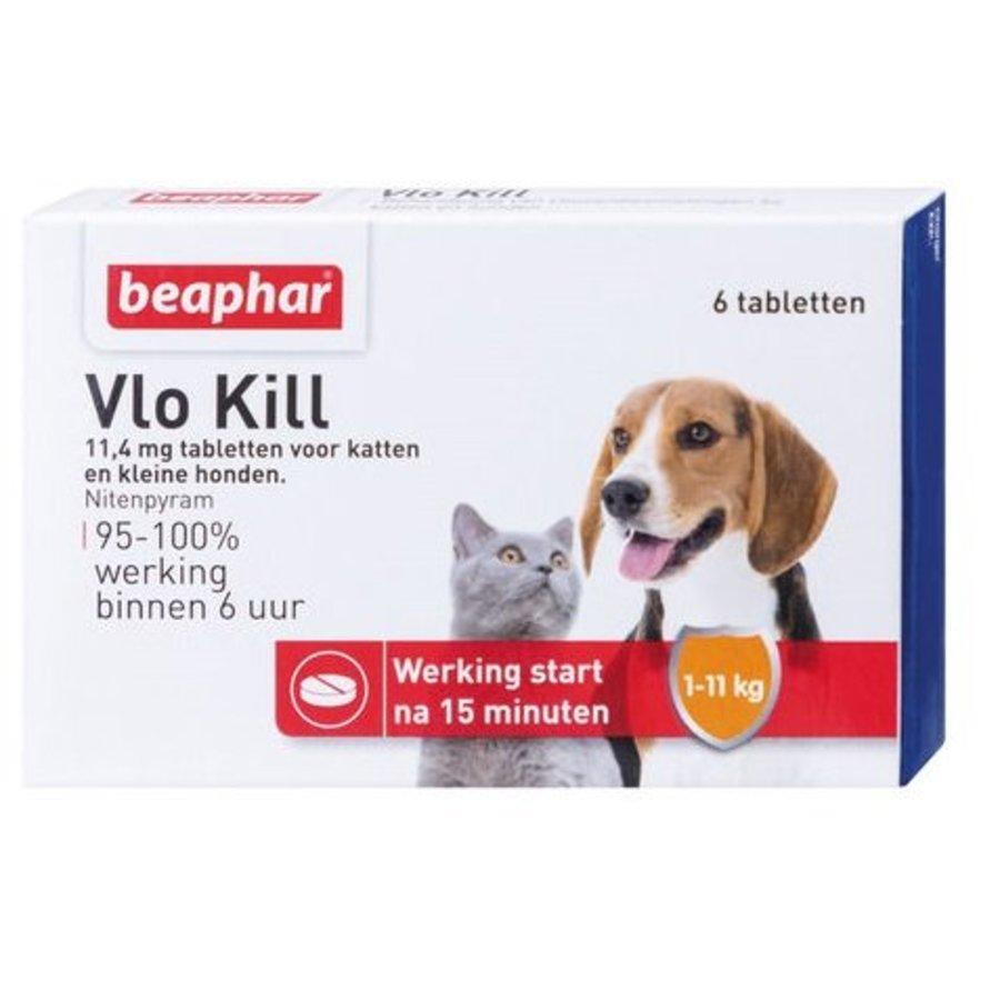 Vlokill+ kat en hond tot 11kg - 6st-1