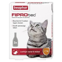 Fiprotec Spot-On Katze 3 Pipetten