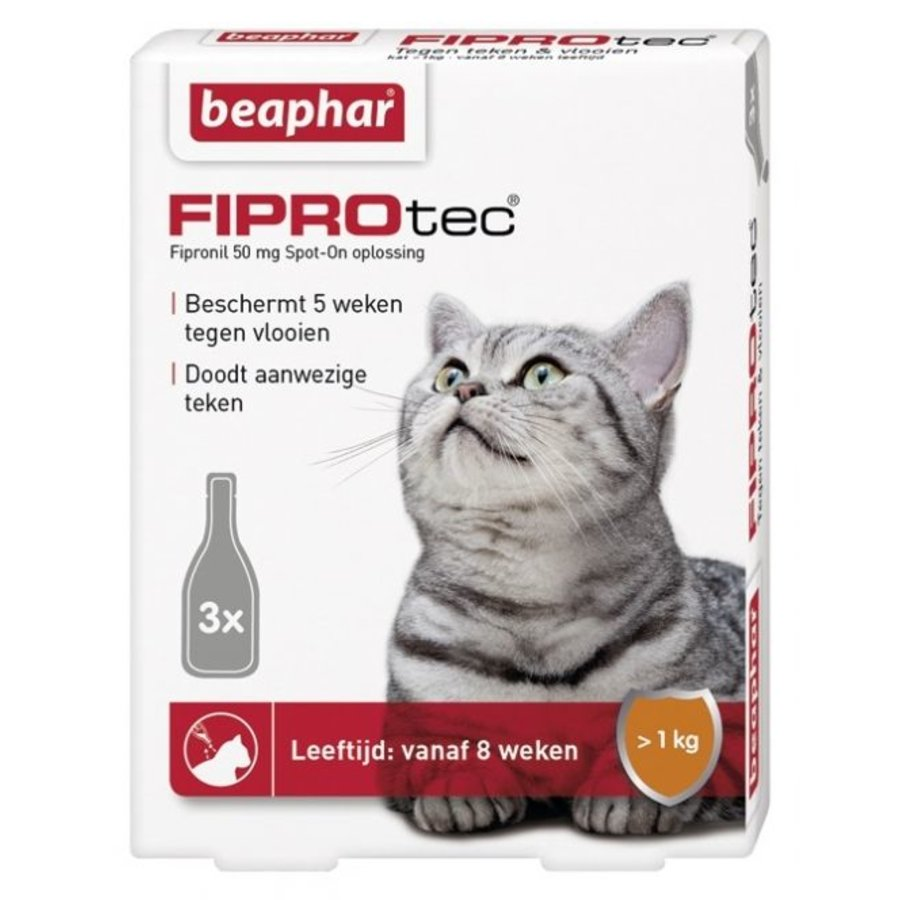 Fiprotec Spot-On Katze 3 Pipetten-1