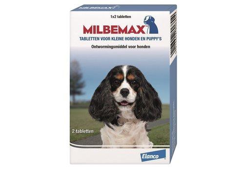 Milbemax Hond klein/puppy (0,5-10kg) - 2 Tabletten