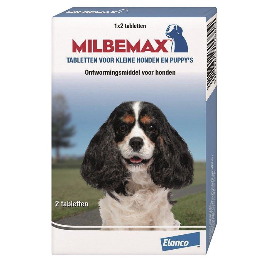 Milbemax Hond klein/puppy (0,5-10kg) - 2 Tabletten-1