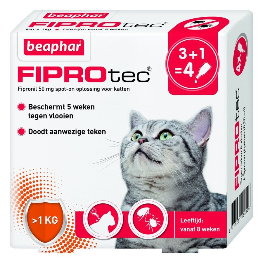 Fiprotec Spot-On cat 3 pipettes-1