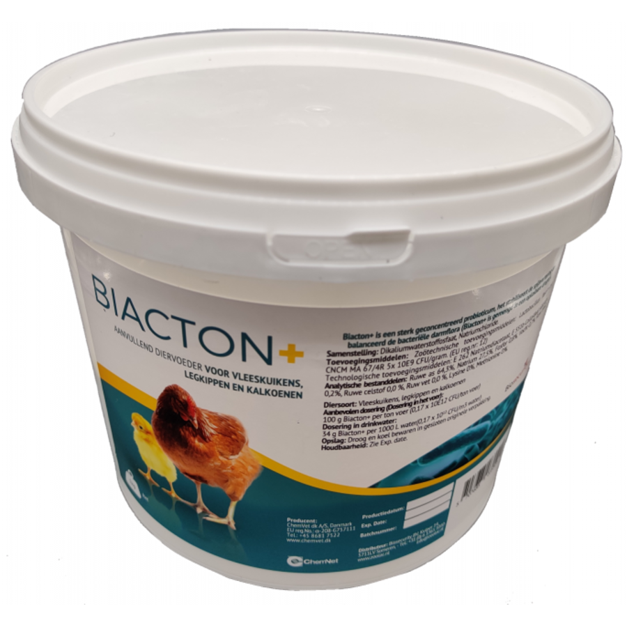 Biacton+ probiotic for laying hens, broilers, turkeys, pigeons and pigs-1