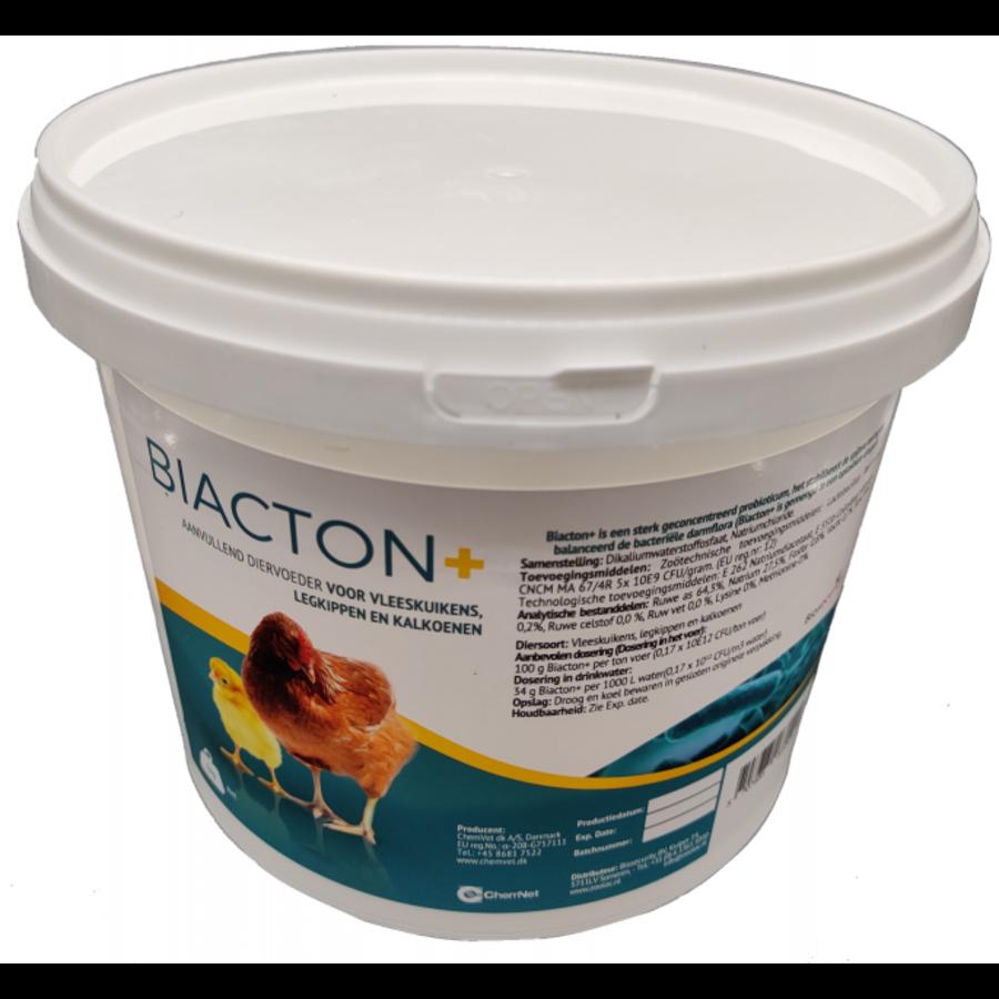 Biacton+ probioticum voor leghennen, vleeskuikens, kalkoenen, duiven en varkens-1