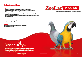 Zoolac Probird brochure