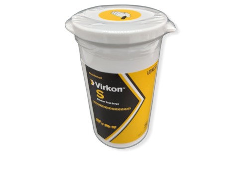 Virkon™ Oplossing Teststrips - 60 st