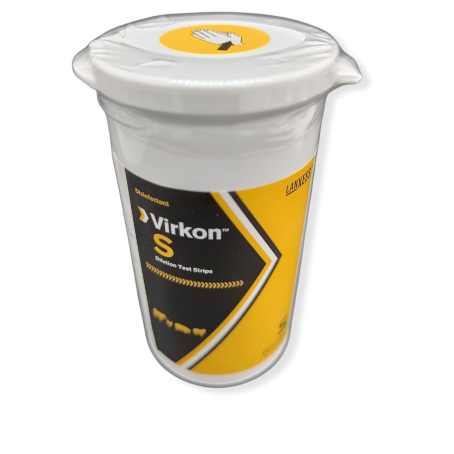 Virkon™ Solution Test Strips for measuring of the solution-1