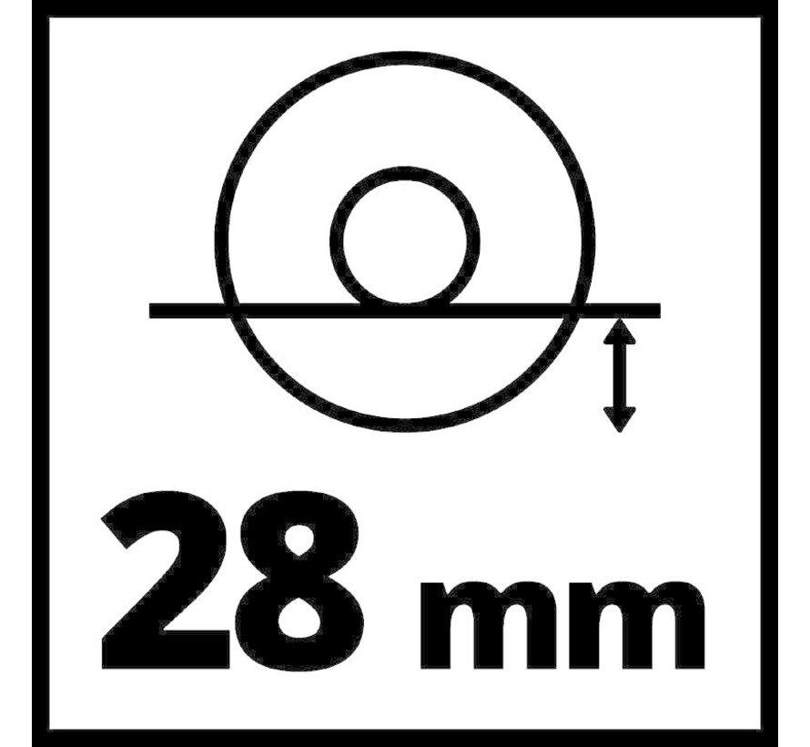 Einhell TE-AG 18/115 Li KIT Accu haakse slijper