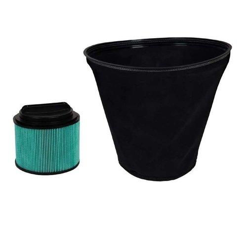 Fijnstof Filtersysteem Nat-/Droogzuiger