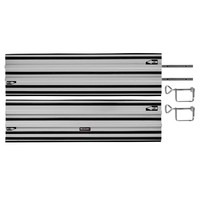 Einhell Geleiderail 2-delig Aluminium 2x 100cm