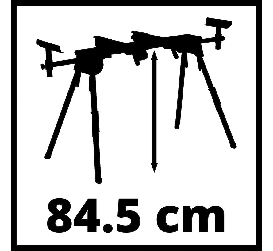 Einhell MSS 1610 Universeel onderstel