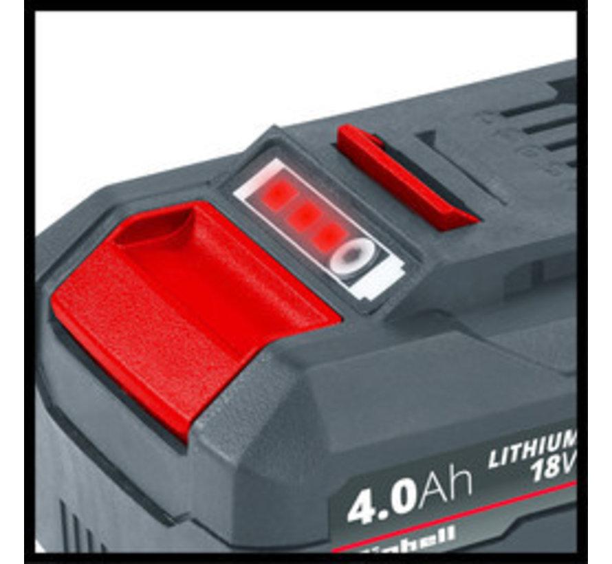 Einhell Power X-Change 18V 4,0 Ah Li-Ion Accu DUO