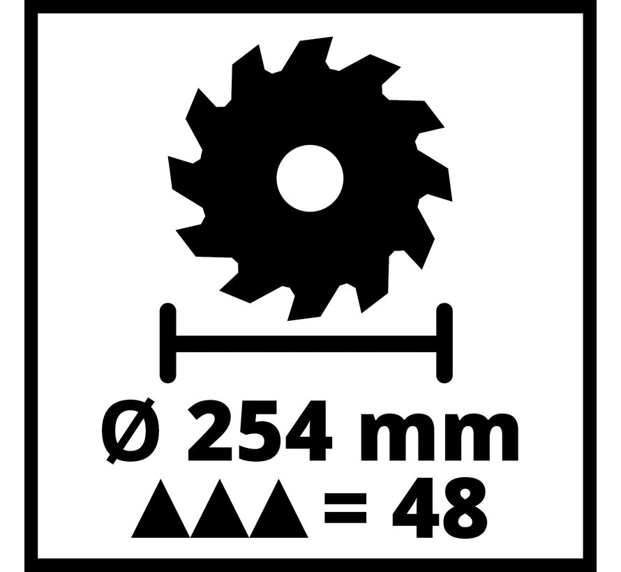 Einhell TC-SM 254 Radiaal afkortzaag
