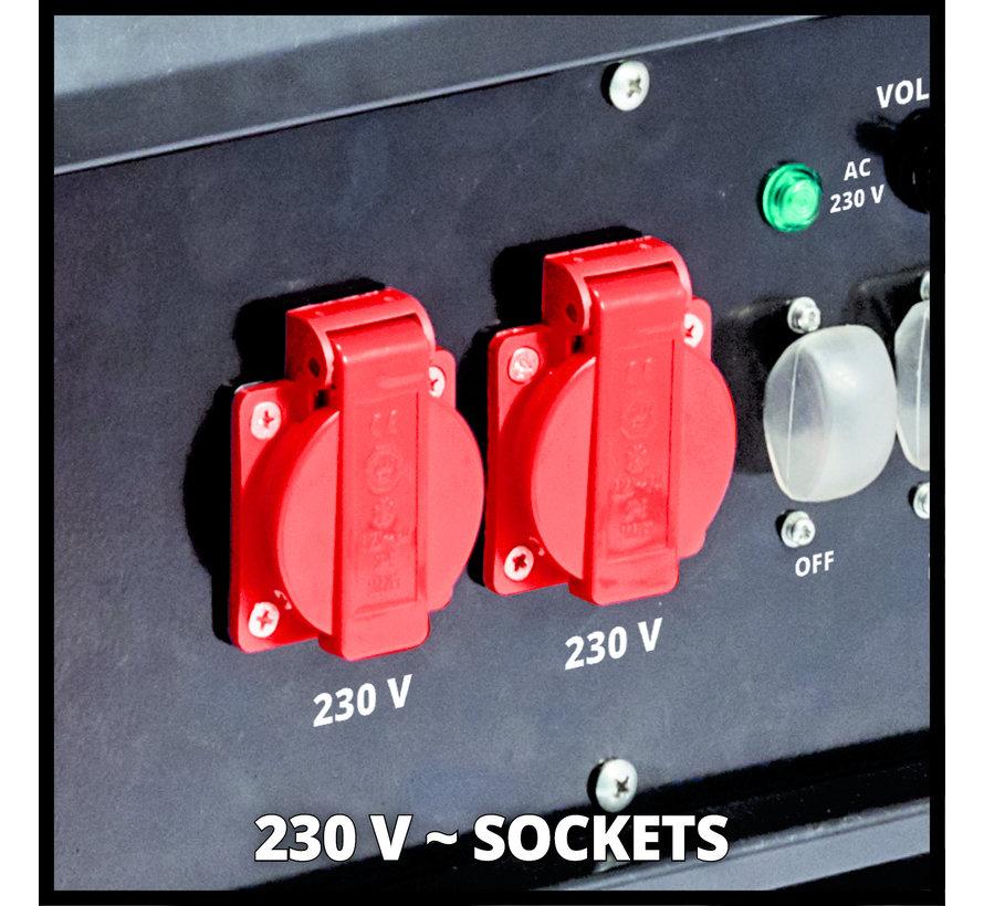 TC-PG 55/E5 Benzine Generator