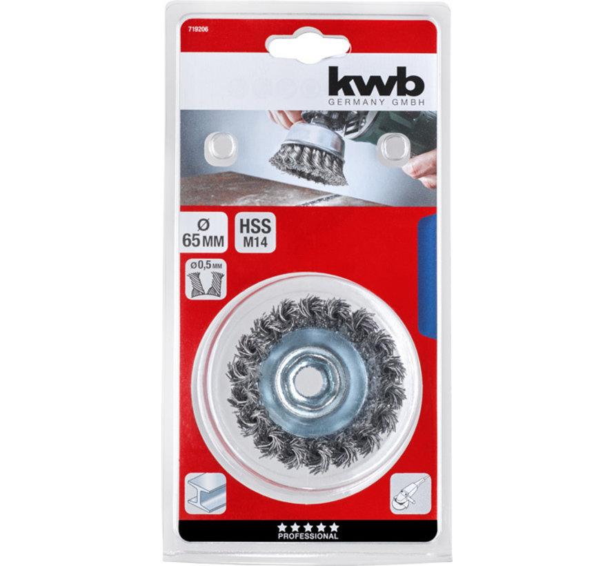 KWB Komborstel AGGRESSO-FLEX® 65mm