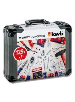 KWB Gereedschapskoffer 129 delig