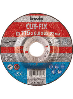 Afbraamschijf 115 x 6,0 x 22,23 mm CUT-FIX®