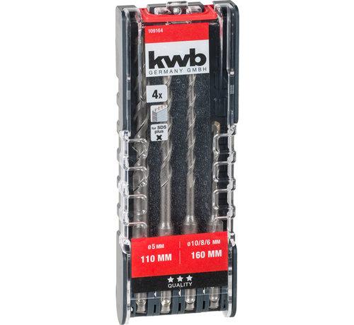 KWB Hamerborenset 4-delig 109164