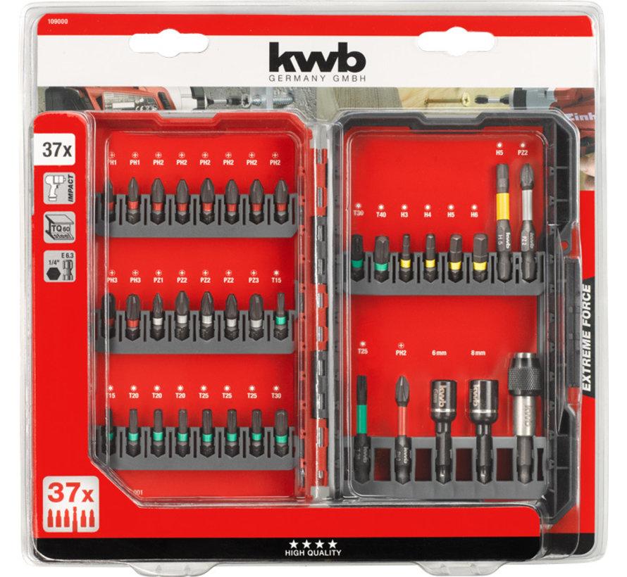 KWB Bitbox Impact 37-dlg. L-box High Quality