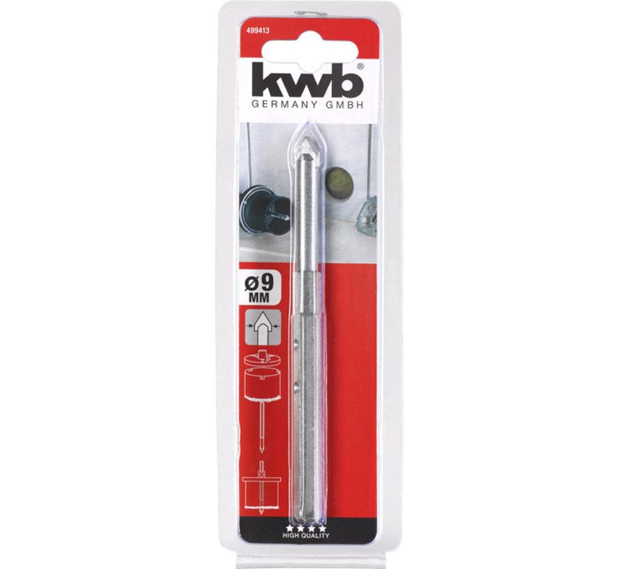 KWB Centreerboor HM 9mm