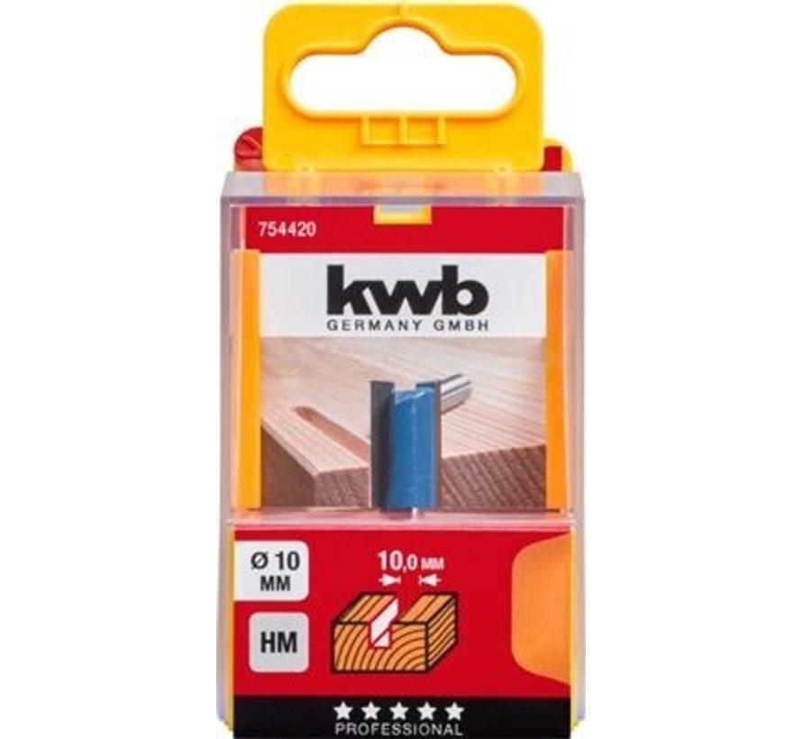 KWB vingerfrees 10mm in cassette
