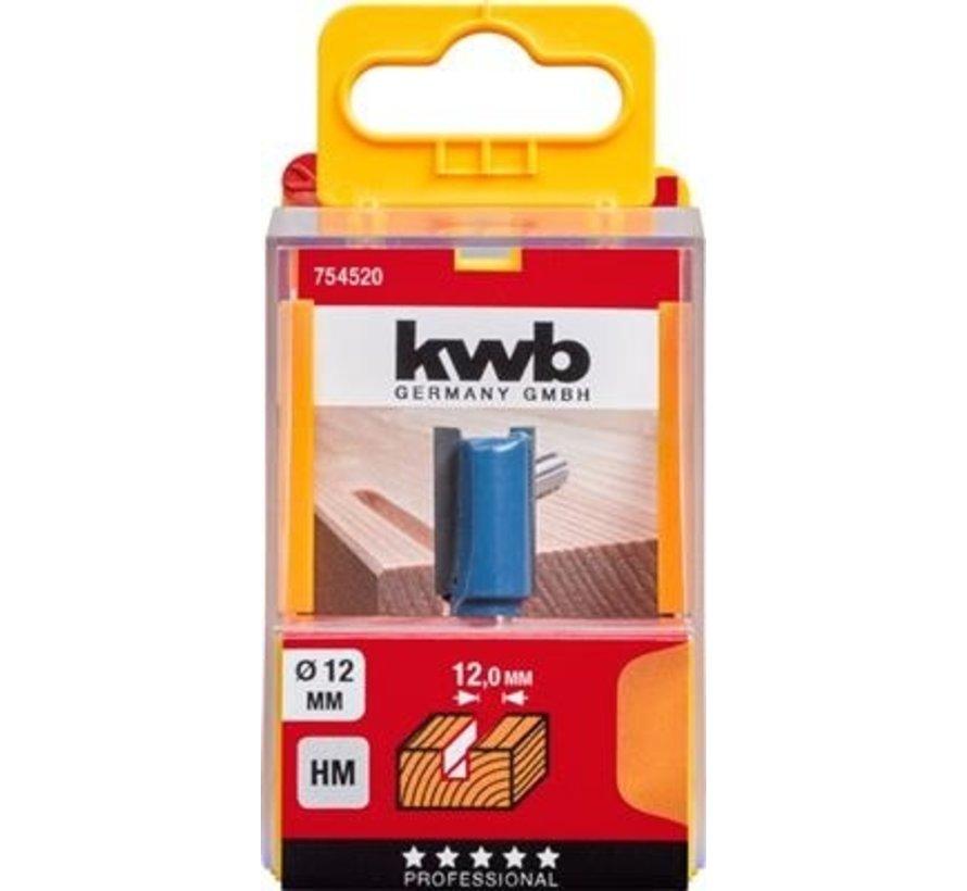KWB vingerfrees 12mm in cassette