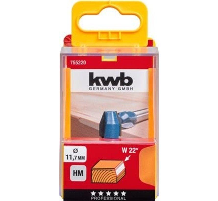 KWB  Kantenfrees 11,7mm HM