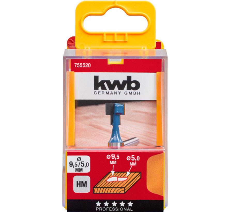 KWB T-Vingerfrees 9,5 mm