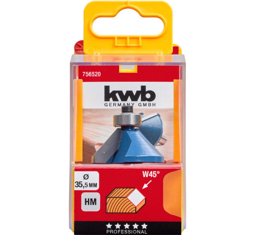 KWB Afkantfrees 35,5mm HM