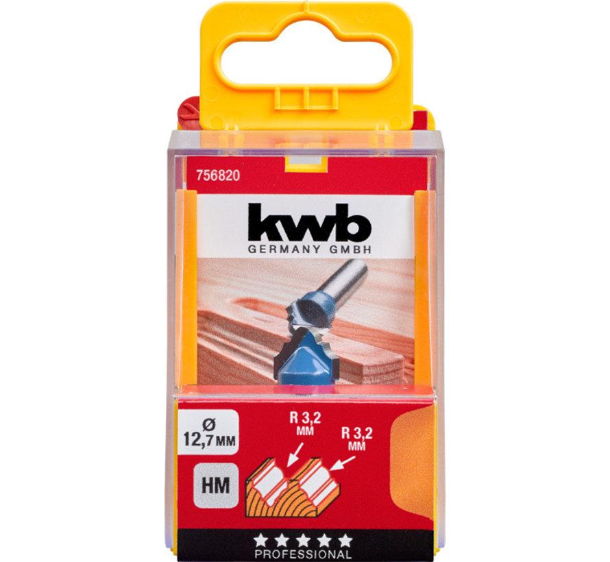 KWB Profielfrees 12,7mm HM