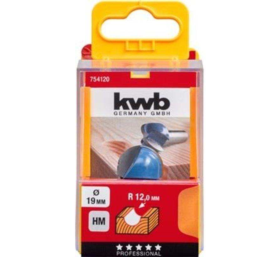 KWB Uitholfrees 19mm HM