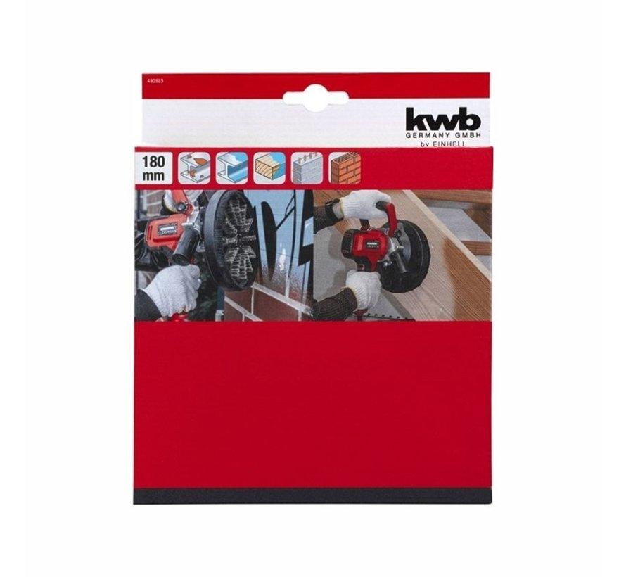 KWB Schuurborstel Ø 180 mm voor wandverwerkingssysteem