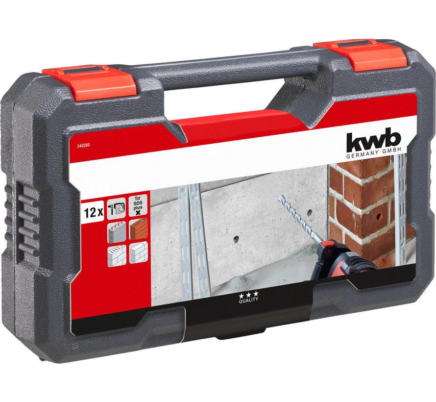 KWB SDS Plus borenset 12-delig
