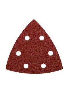 Schuurpapier driehoek 5 stuks K80