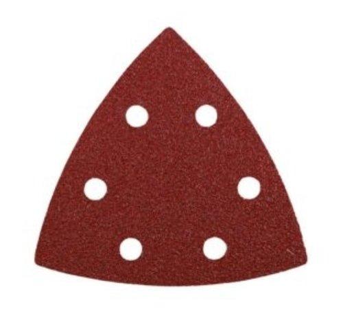 KWB Schuurpapier driehoek 5 stuks K80