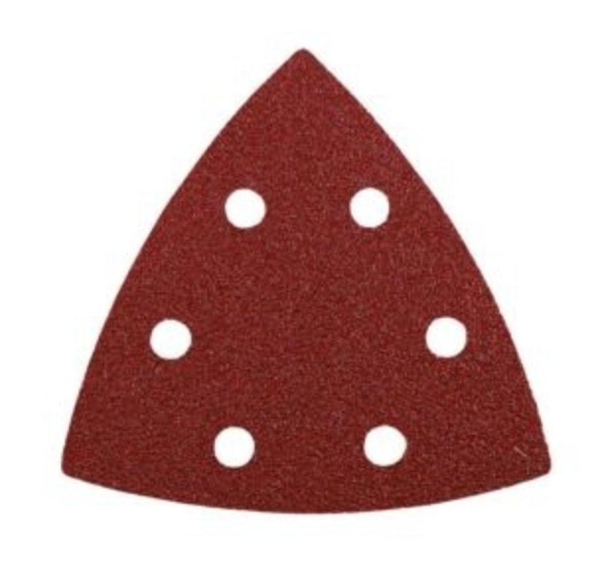KWB Schuurpapier driehoek 5 stuks K180