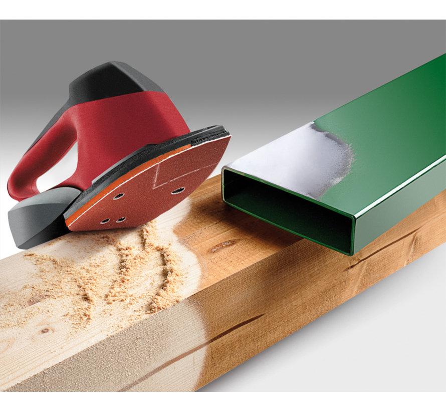 KWB Schuurdriehoeken, hout & metaal. 96 X 136 MM K120
