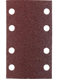 Schuurstroken, hout & metaal. 80 X 133 MM K120
