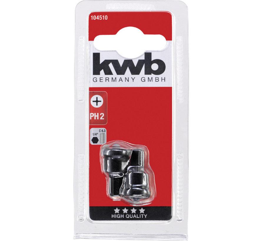 KWB Phillips 2 gipsplaat bits