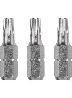 Bit Torx 10 - 25 mm INDUSTRIAL STEEL - 3 stuks