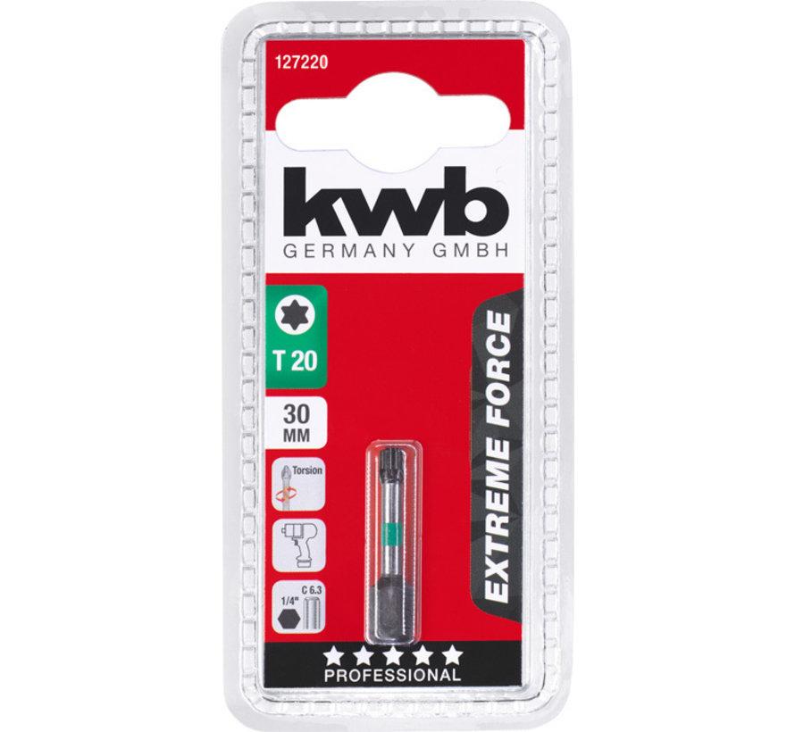 KWB Bit Torx 20 - 30 mm EXTREME FORCE