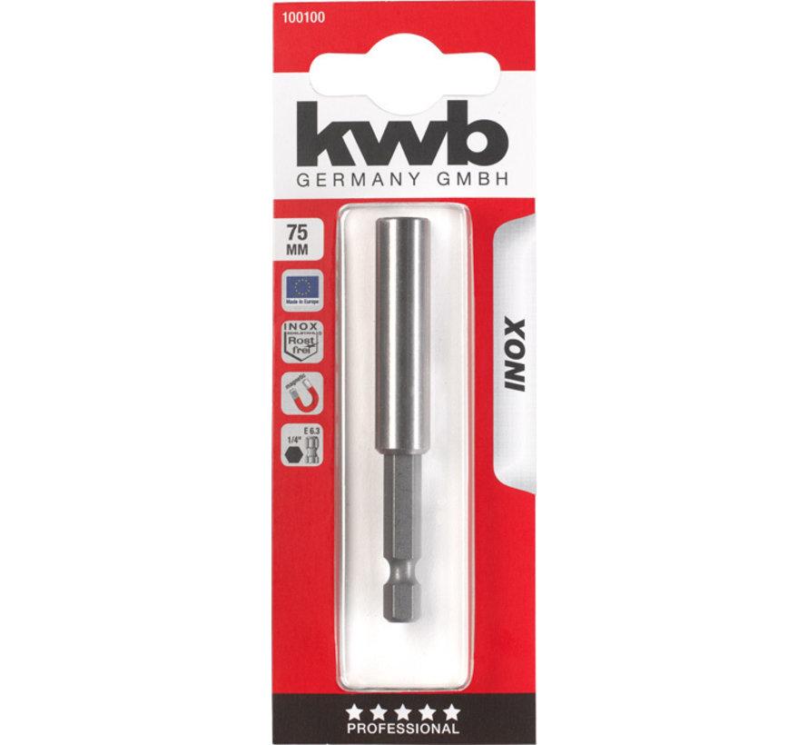 KWB Magnetische bithouder 58 mm INOX