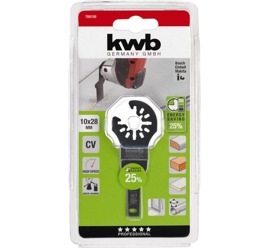 KWB Multitool inval-zaagblad CV 10 x 28 mm