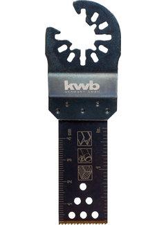 Multitool inval-zaagblad BIMETAAL 22 x 48 mm