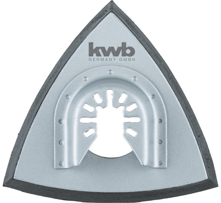KWB Multitool houderplaat geperforeerd 93 mm