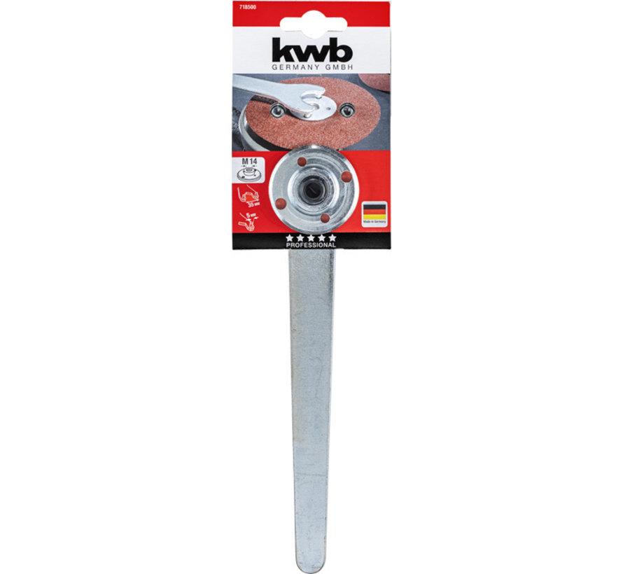 KWB Pensleutel, met spanmoer AGGRESSO-FLEX® M14