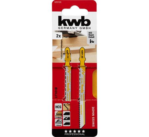 KWB Decoupeerzaagbladen HCS T101B T-schacht Fijn