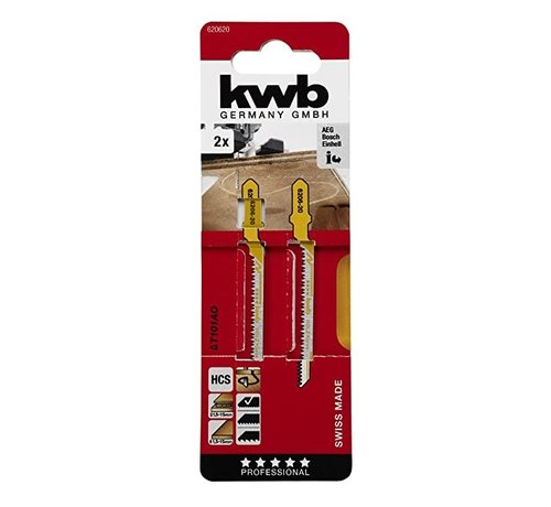 KWB Decoupeerzaagbladen HCS T101AO T-schacht Curve