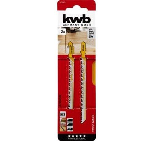 KWB Decoupeerzaagbladen HCS T301CD T-schacht Grof lang